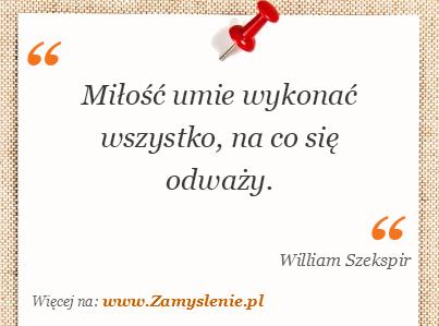 William Szekspir Cytaty Tego Autora Zamysleniepl