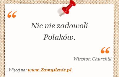 Obraz / mem do cytatu: Nic nie zadowoli Polaków.