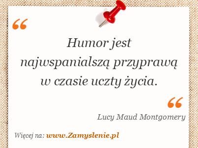 Obraz / mem do cytatu: Humor jest najwspanialszą przyprawą w czasie uczty życia.